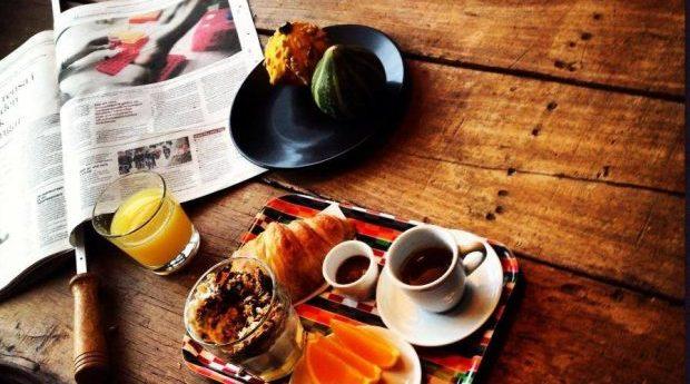 Frukost på bord