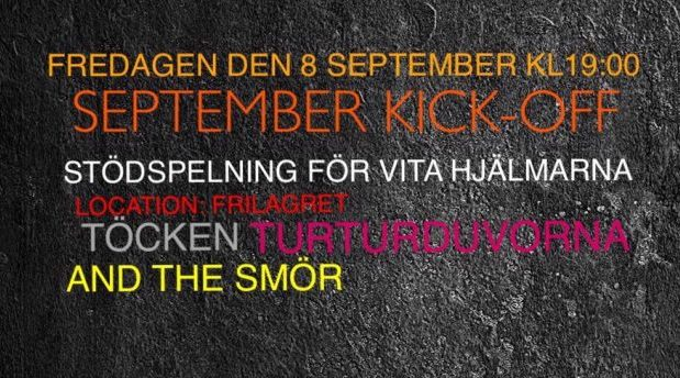 September kick-off - stödspelning
