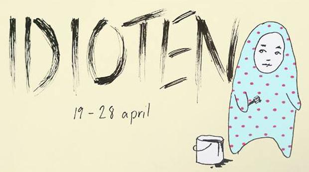 Utställning: Idioten - Mika Lövsén