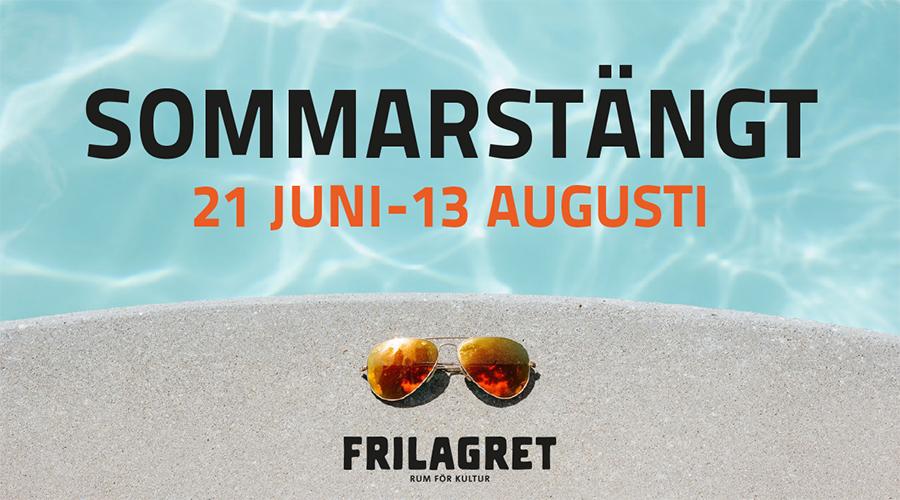 Sommarstängt på Frilagret