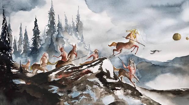 Utställning: Målningar från Barbaria