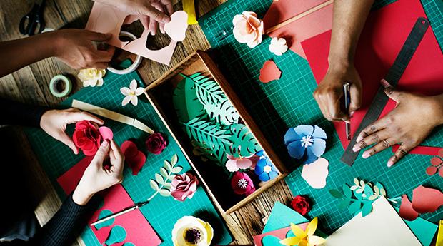Kom och skapa i vårt kreativa labb