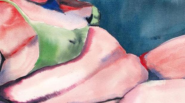 Utställning: TJOCK av Naomi Mignone