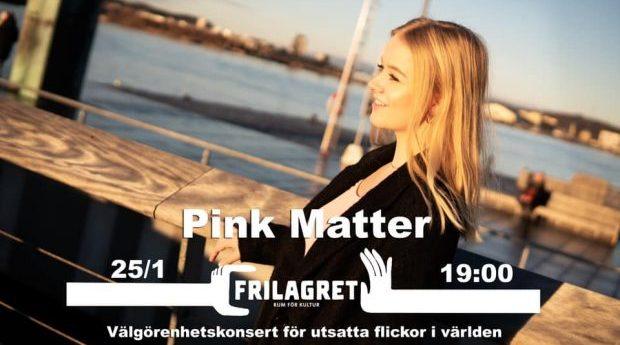 Välgörenhetskonsert: Pink Matter