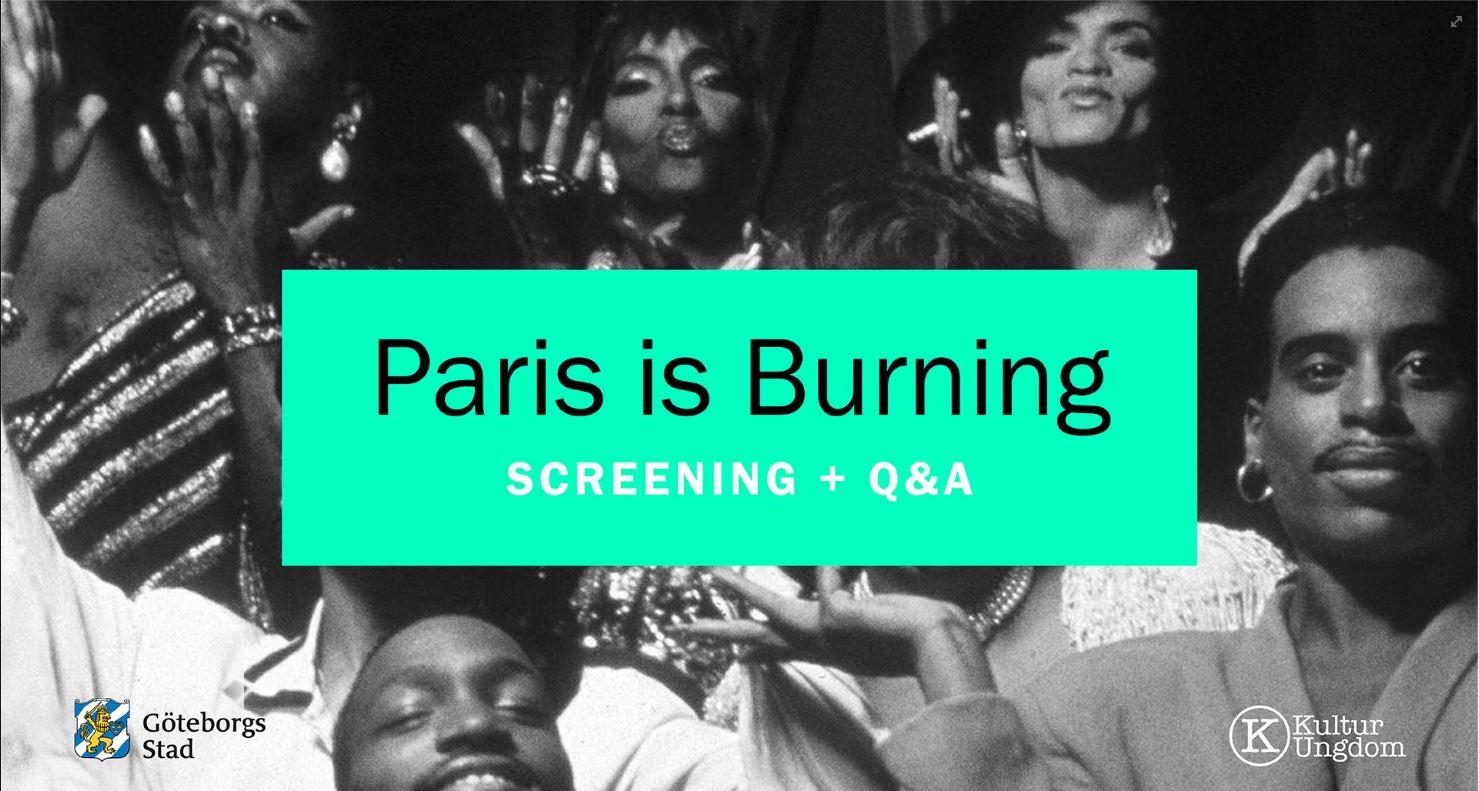 Paris is Burning – Filmkväll och samtal