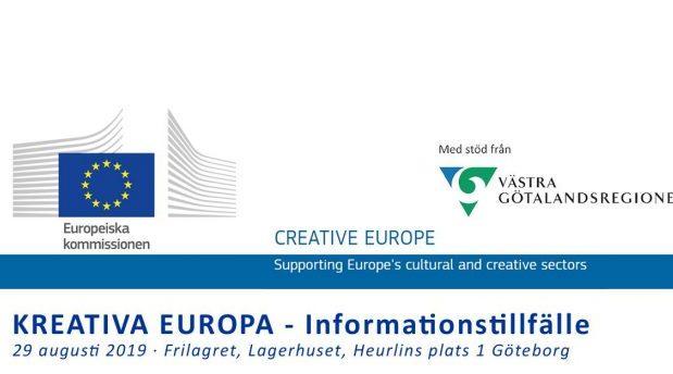 Infoträff Kreativa Europa
