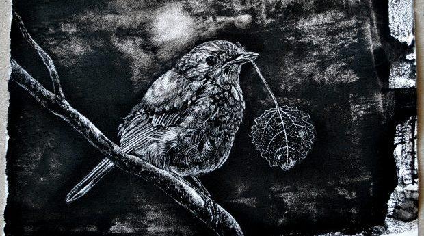 Utställning: Robin in the Wood