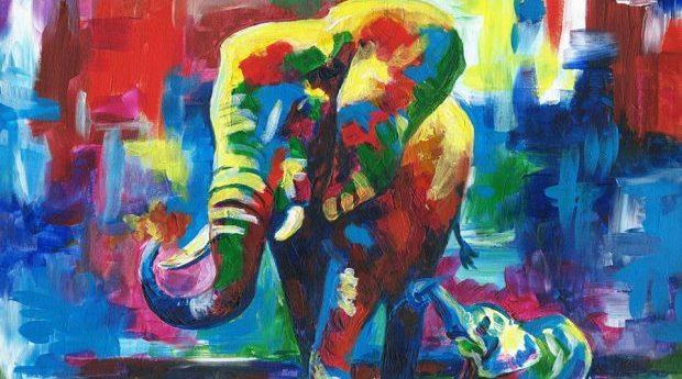 Utställning: Glädjen i färg