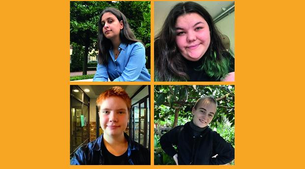 Utställning: We Are Poetry: Ett rum med tonårsångest och annat