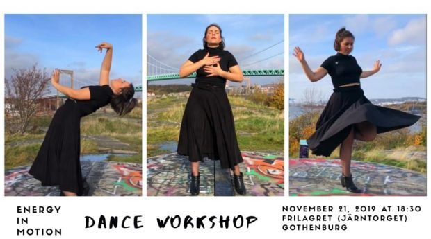Energy in Motion Dance Workshop