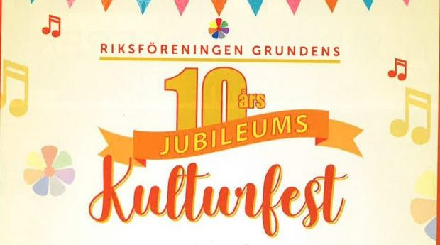 Grundens 10 års-jubileums Kulturfest