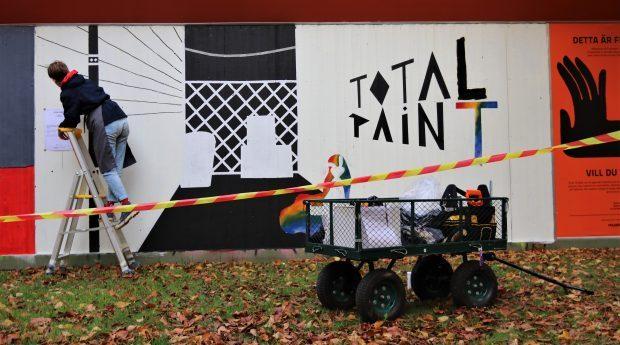Street art-workshop på Friplanket