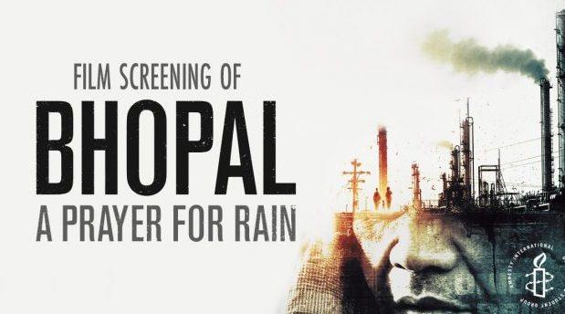 Film screening: Bhopal: A Prayer For Rain