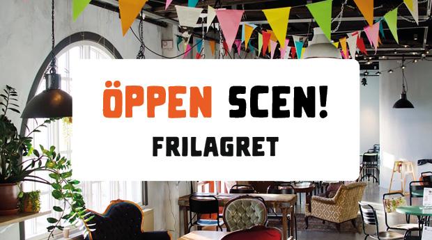 Öppen Scen tillsammans med Frilagret