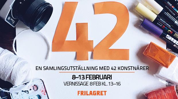 42 – En samlingsutställning på Frilagret
