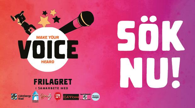 VOICE Talangtävling – SÖK NU!
