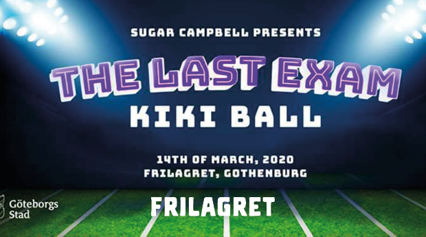 INSTÄLLT! The Last Exam Kiki Ball