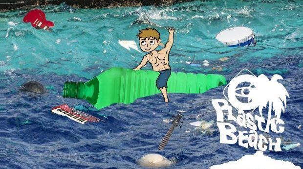 Plastic beach välgörenhetskonsert