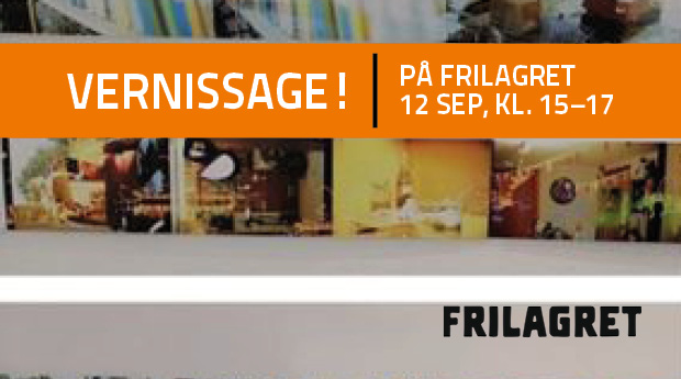 Utställning & vernissage: Where I am and where I want to be
