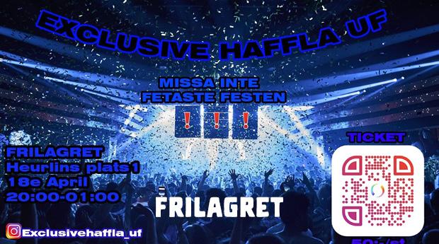 Ungdomsfest: Exclusive Haffla UF