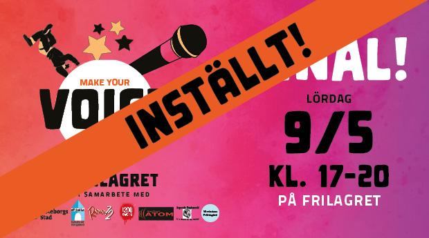 Final: VOICE Talangtävling på Frilagret