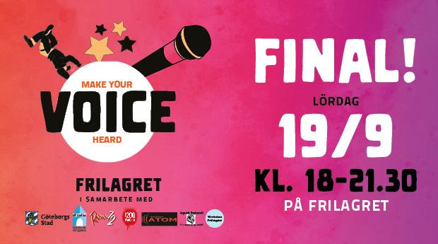 VOICE Talangtävling: Final på Frilagret