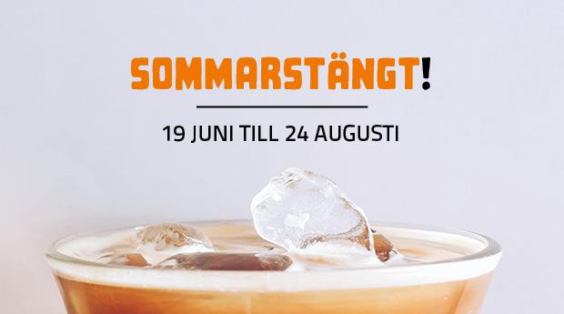Sommarstängt på Frilagret, 19 juni till 14 augusti