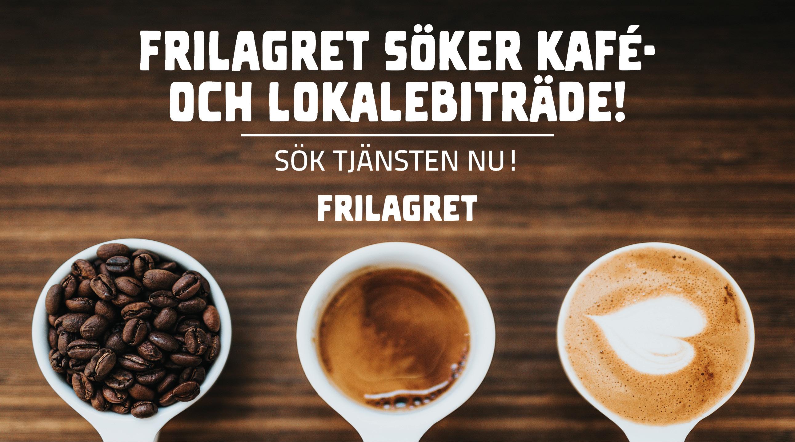 Frilagret sökerkafé- och lokalbiträde!